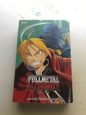 Full Metal alchemist manga 1-3 for Sale in Seffner, FL