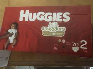 Huggies little movers size 2 diaper for Sale in Lauderhill, FL