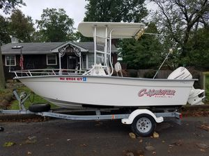 CapeHorn Center Console Boat with trailor and many extras for Sale in Woodbridge Township, NJ
