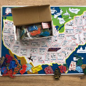 North American Map With Magnets For All US States, Canadian Provinces, Mexico, And More! for Sale in Mt. Juliet, TN