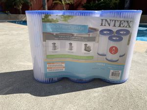 Intex A/C Pool filters (3 pack) for Sale in Anaheim, CA