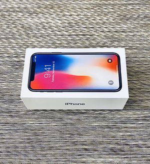 Unlocked iPhone X Space Gray 64 GB for Sale in Chicago, IL