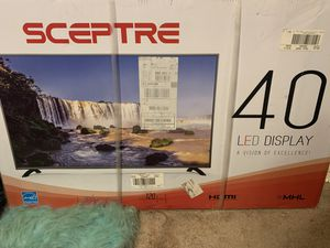 40 inch Sceptre Tv for Sale in Temple Hills, MD