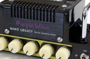 Hotone TANLA2 Nano Legacy Purple Wind 5-Watt Compact Guitar Amp Head With 3-Band EQ for Sale in Los Angeles,  CA