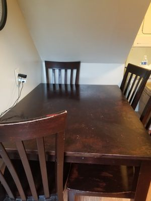 Mesa de comedor de 4 sillas for Sale in Manassas Park, VA