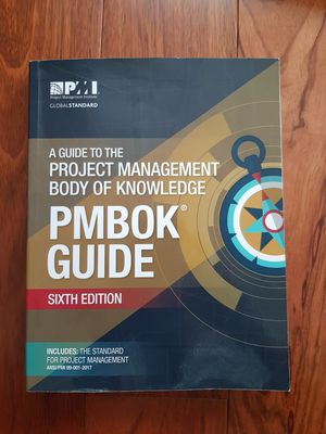 PMBok 6th edition for Sale in Gaithersburg, MD