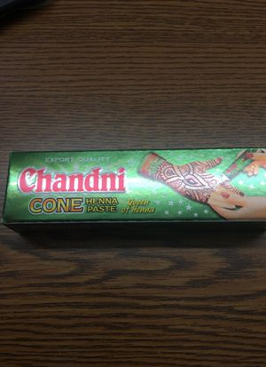 Chandni cone henna paste for Sale in Madison Heights, MI