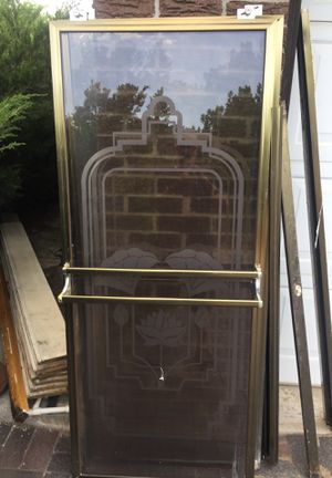 Shower doors 27 x 64 to each for Sale in Denver, CO