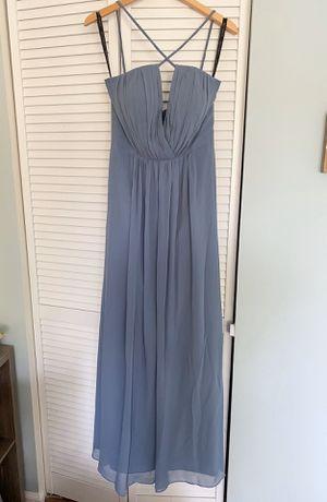 Bill Levkoff Bridesmaid Dress in Dusty Blue for Sale in Coconut Creek, FL