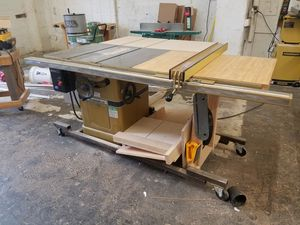 """3 HP 52"""" RIP powermatic 66 table saw with extras for Sale in Portland, OR"""