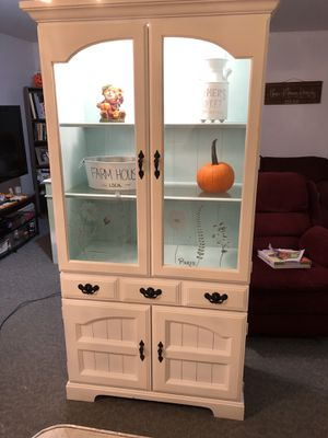 White hutch for Sale in Ocean Township, NJ