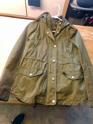 Zip up Fall Jacket w/hoodie for Sale in Riverside, IL