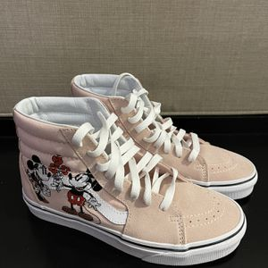 Vans Sk8-Hi Disney Mickey and Minnie (W) 6.5 for Sale in Hollywood, FL