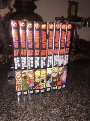 Naruto Manga for Sale in Stockton, CA