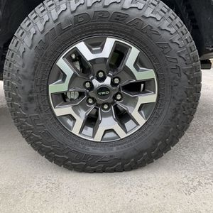 Toyota Tacoma Wheels, Falken Wildpeak AT3W All Terrain Radial Tires- 265/70R16 112T for Sale in Kent, WA