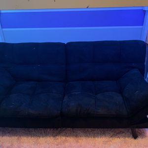 Black Convertible Futon for Sale in Tucker, GA