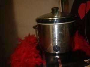 Stanless steal crock pot for Sale in San Bernardino, CA