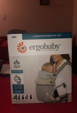 Ergo baby carrier for Sale in Boston, MA