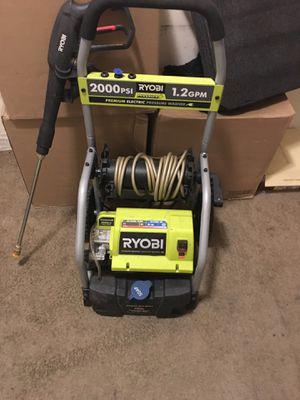 Ryobi 2000 PSI pressure washer for Sale in Washington, DC
