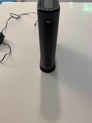 2 in 1 Modem & 5G WiFi Router Motorola for Sale in AUSTIN, TX