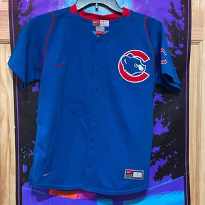 Nike Team Chicago Cubs Jersey Size Youth Medium for Sale in Park Ridge, IL