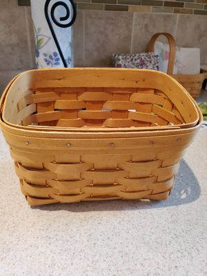 Longenberger basket for Sale in Glen Burnie, MD
