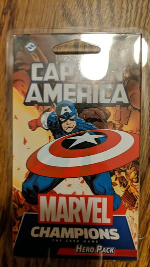 Captain America Marvel Champions Hero Pack for Sale in La Grange, IL