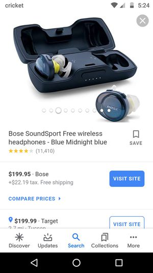 Bose wireless headphones for Sale in Tucson, AZ
