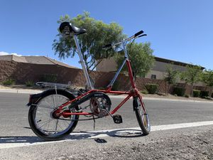 1988 Dahon 3 Rare California fold up bike! for Sale in Las Vegas, NV