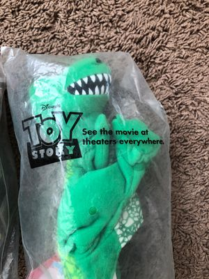 All 3 Toy Story Collectible toys 1995 for Sale in Las Vegas, NV