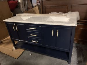 "Brand New 60"" Bathroom Vanity for Sale in Virginia Beach, VA"
