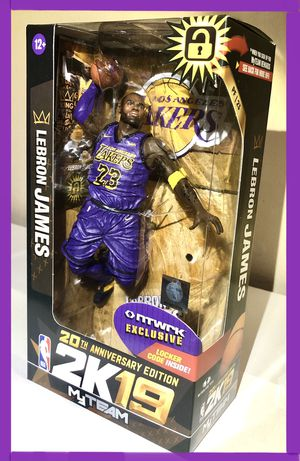 Lebron James LA Lakers NBA McFarlane Toys Rare Exclusive Figure for Sale in Artesia, CA