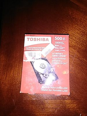 New Toshiba 500GB Laptop and Game Console Hard Drive for Sale in Denver, CO
