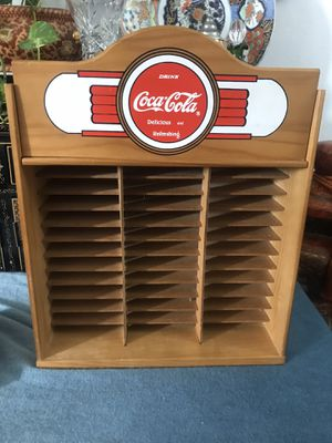 Coca Cola cd holder for Sale in Upland, CA