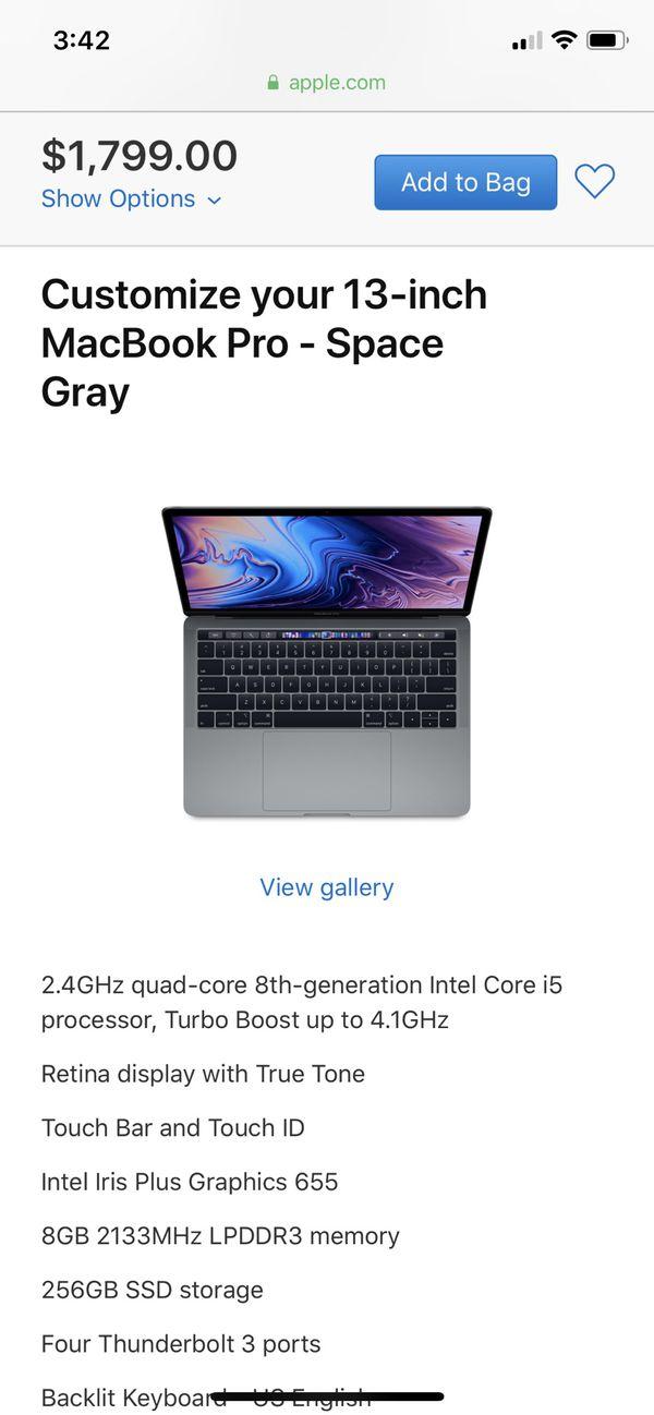 Brand new (sealed in plastic) MacBook Pro