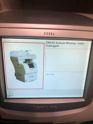LEXMARK X6 46E Printer, Copier, Fax, and Scanner for Sale in Columbus, GA