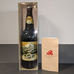 Vintage 1978 Limited Edition 100 Year Anniversary Rainier Beer Bottle for Sale in Portland, OR