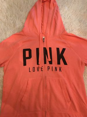 PINK Victoria's Secret zip up hoodie for Sale in Salem, OR