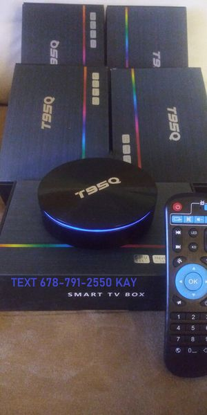 4K HDR10 Plus Android Live UHD TV Box that's way better than a stick! for Sale in Atlanta, GA