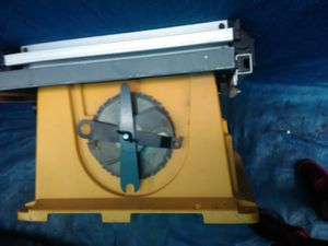dewalt table saw dw744 for Sale in Oakland, CA