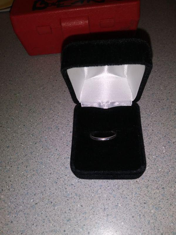 Pure platinum ring