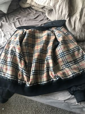 Burberry bomber jacket for Sale in Baltimore, MD