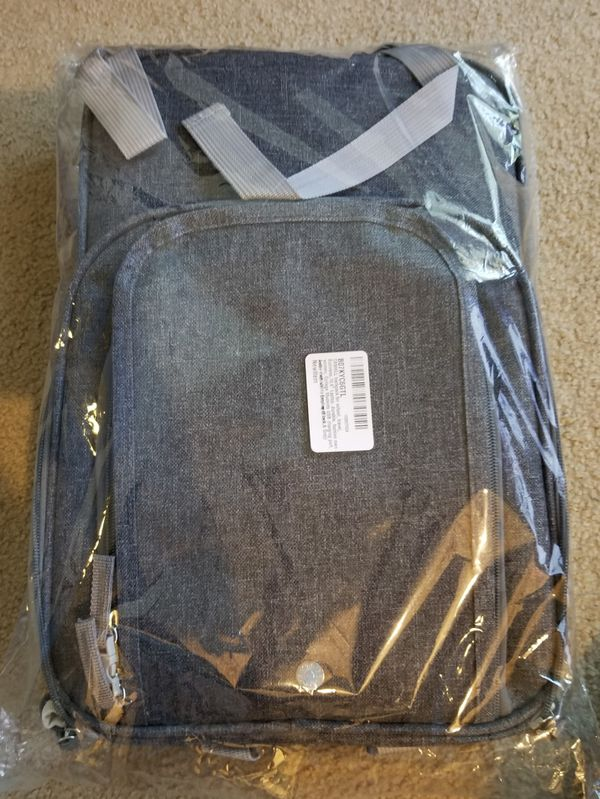 Firm Price! Brand New in a Package Water Resistant Laptop Backpack with USB Charging Port & Security Lock, Located in North Park for Pick Up/Shipping