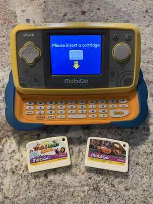 Vtech Mobigo Kids Video Game Learning System for Sale in Waxahachie, TX