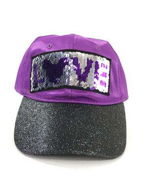 Disney Parks Hat Baseball Cap, Mickey Mouse LOVE SEQUINS, Purple - Strapback for Sale in Thousand Oaks, CA