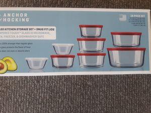 Glass bowls set 16 pcs for Sale in Hartford, CT