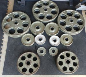 Ivanko Olympic Revolver Plate set OM Series: 455 lbs for Sale in Elk Grove, CA