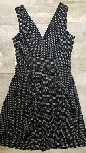 Corey p size 6 little black white polka dot dress party Gothic punk baby doll Halloween costume drag for Sale in Scottsdale, AZ
