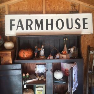 Metal Farmhouse Sign for Sale in Riverside, CA