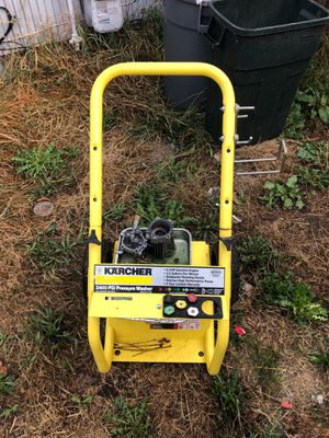 Pressure washer stand and pump for Sale in Puyallup, WA